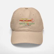 HealthCARE vs. Health Insurance Baseball Baseball Cap
