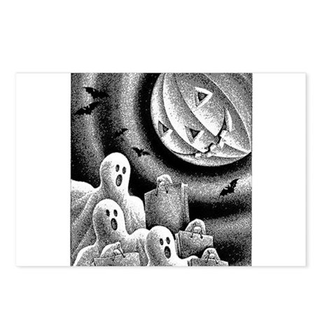 Holloween Postcards (Package of 8)