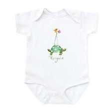 Recycle Turtle Infant Bodysuit