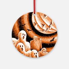 Holloween Ornament (Round)