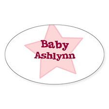 Baby Ashlynn Oval Decal