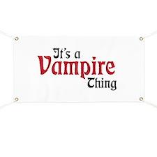 Vampire Thing Banner