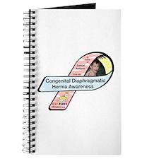 Samual Retterer CDH Awareness Ribbon Journal