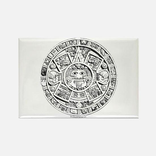 Cute Mayan 2012 Rectangle Magnet
