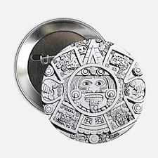 """Unique Mayan 2.25"""" Button"""