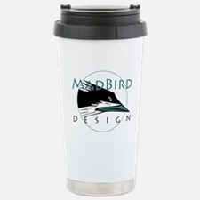 Mad Bird Design Travel Mug