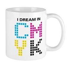 Dream In CMYK Mug