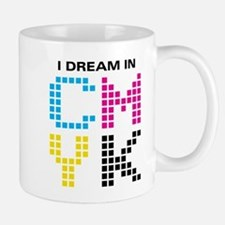 Dream In CMYK Small Small Mug