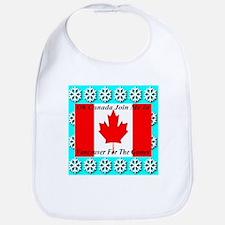 Oh Canada Bib