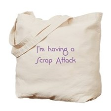 Scrap Attack Tote Bag