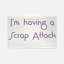 Scrap Attack Rectangle Magnet