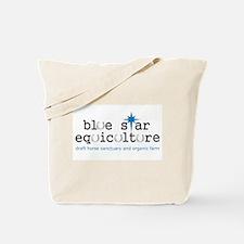 Blue Star Logo Tote Bag