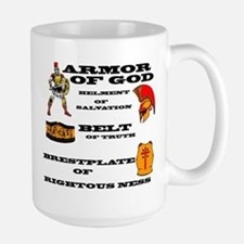 armor of God front Mugs