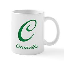"""Caravella """"C"""" Logo Mug"""