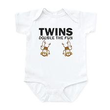 TWINS: Double The Fun Infant Bodysuit