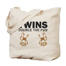 TWINS: Double The Fun Tote Bag