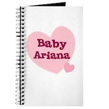 Baby Ariana Journal