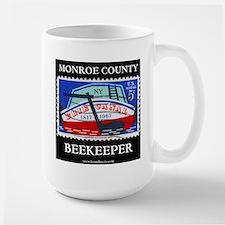 Monroe County Beekeeper 15 Oz Ceramic Large Mugs