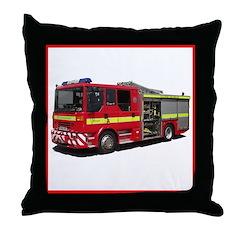 Fire Engine Throw Pillow