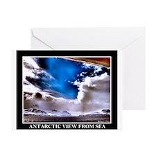 Antarctic view Greeting Cards (Pk of 10)