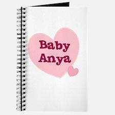 Baby Anya Journal