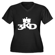 3 Kings Day Women's Plus Size V-Neck Dark T-Shirt