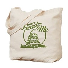 Dont Tread Snake Tote Bag