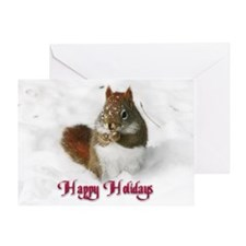 Seed Stealer Holiday Greeting Card