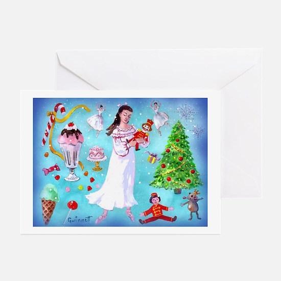 Nutcracker & Clara Greeting Cards (Pk of 20)
