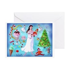 Nutcracker & Clara Greeting Card