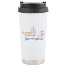 Cute Forensic anthropology Travel Mug