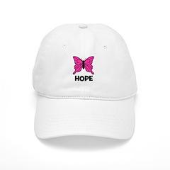Butterfly - Hope Baseball Cap