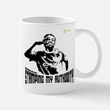 Adebayor - Stamping my author Mug