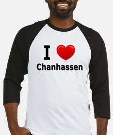 I Love Chanhassen Baseball Jersey