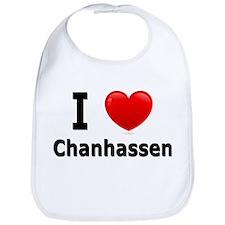 I Love Chanhassen Bib