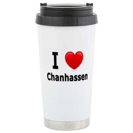I Love Chanhassen Stainless Steel Travel Mug