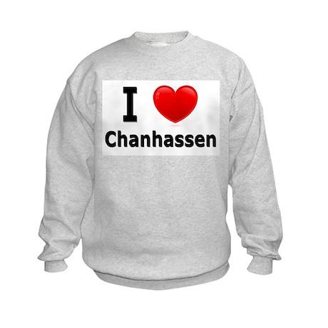 I Love Chanhassen Kids Sweatshirt