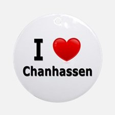 I Love Chanhassen Ornament (Round)