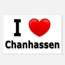 I Love Chanhassen Postcards (Package of 8)