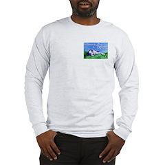 """Cloud 9"" Long Sleeve T-Shirt with Logo"