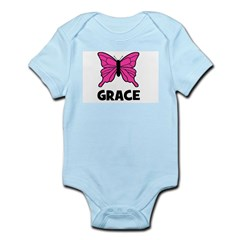 Butterfly - Grace Infant Creeper