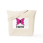 Butterfly - Faith Tote Bag