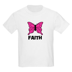 Butterfly - Faith Kids T-Shirt
