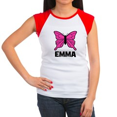 Butterfly - Emma Women's Cap Sleeve T-Shirt