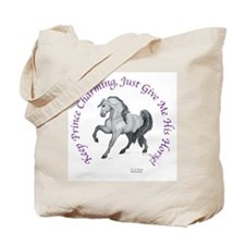 Keep Prince Charming Horse Tote Bag