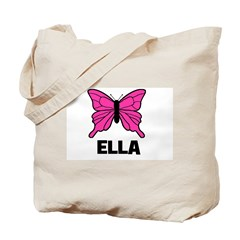 Butterfly - Ella Tote Bag