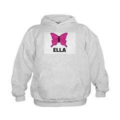 Butterfly - Ella Kids Hoodie