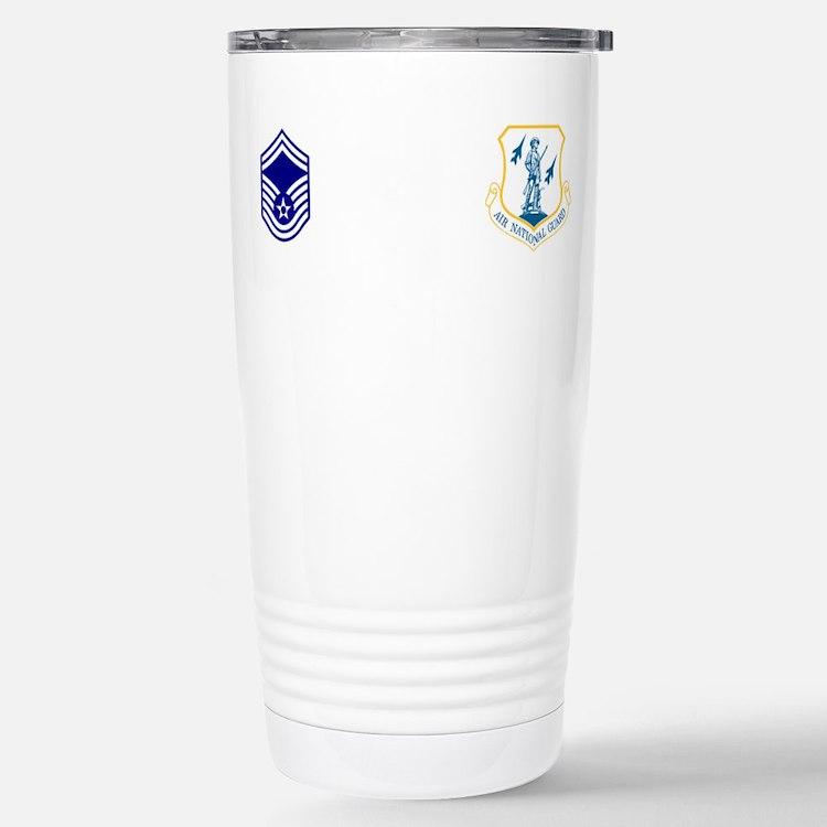 Cute Air narional guard insignia Travel Mug