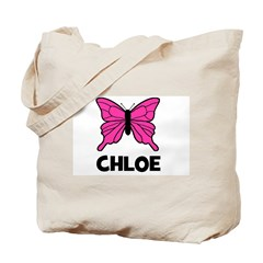 Butterfly - Chloe Tote Bag