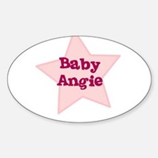 Baby Angie Oval Decal
